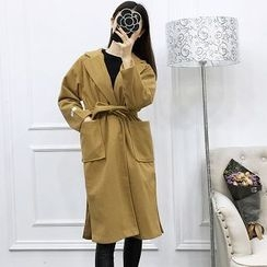 Be Bonita - Tie-Waist Coat