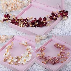 Ashmi - Bridal Floral Headband