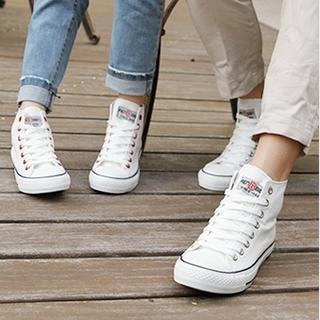 Renben - Convas High-Top Couple Sneakers