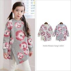 URAVI - Kids Floral Print Pullover