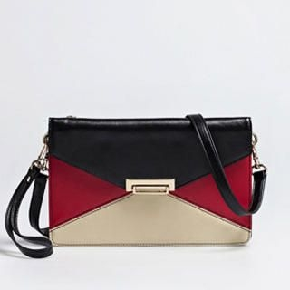 Moonbasa - Contrast-Color Envelope Clutch