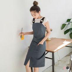 OrangeBear - Sheath Overall Dress