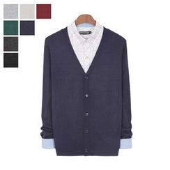 DANGOON - V-Neck Button-Down Cardigan