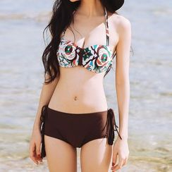 Sweet Splash - Set: Patterned Bikini + Cover