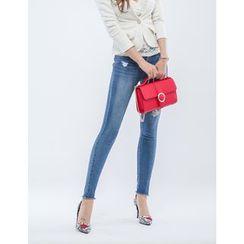 GUMZZI - Distressed Skinny Jeans