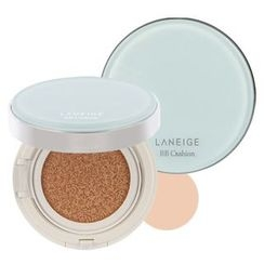 Laneige - BB Cushion Pore Control with Refill SPF50+ PA+++ (#11 Light Beige)