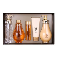 The History of Whoo - Whoo Spa Body Special Set: Oil Shower 350ml + 100ml + Moisturizer 350ml + 100ml