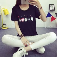 Magic Mirror - Print Short Sleeve T-Shirt