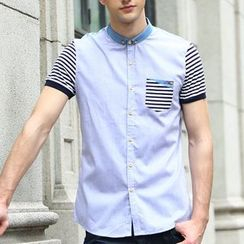 Lutai - Striped Casual Shirt