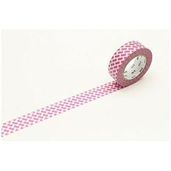 mt - mt Masking Tape : mt 1P Knit Check Pink