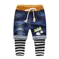 Endymion - Baby Mock Two Piece Jeans