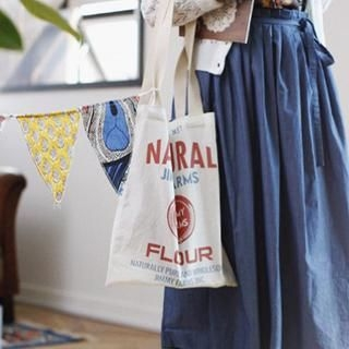 GOROKE - Lettering Shopper Bag