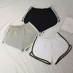 EDITH - Piped Sports Shorts