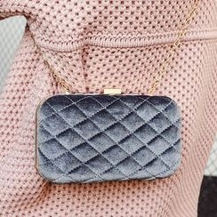 Youme - Chain Strap Quilted Crossbody Bag