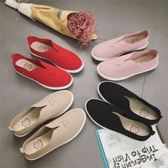 Hipsole - Faux-Suede Slip-Ons