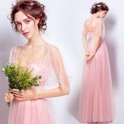 Angel Bridal - 飾珠長禮服