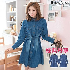 RingBear - Washed Denim Dress