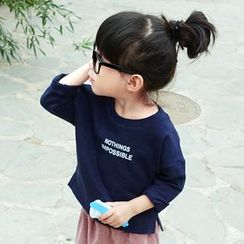 CUBS - Kids Lettering Long-Sleeve T-Shirt