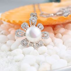 Zundiao - 银质珍珠吊饰