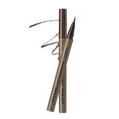 The Saem - Eco Soul Long Stay Brush Liner (#02 Brown)