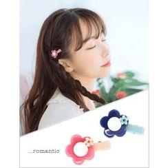 soo n soo - Colored Flower Hair Pin
