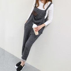 Champi - Color Panel Pinafore Jumpsuit