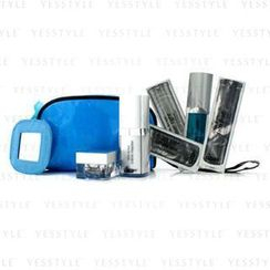 Dr. Brandt - Time Arrest Travel Set: Creme Cleanser + Creme + Face Fluid + Laser Tight + Eye Serum + Collagen Booster + Bag
