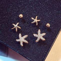 Utsukushi - Set of 6: Earrings