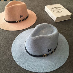 Hats 'n' Tales - Belted Straw Hat