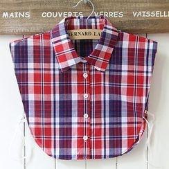 MIOW - Plaid Decorative Collar