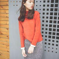 Polaris - Mock Neck Sweater