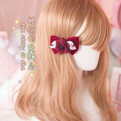 AOI - 絨面髮夾