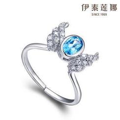 Italina - Swarovski Elements Crystal Wings Ring