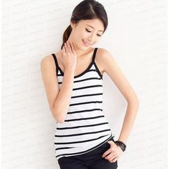 SO Central - Sleeves Striped Top