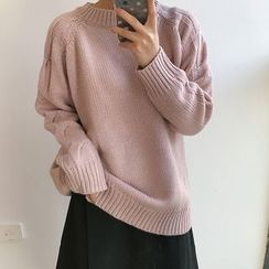 THESUMEY - Cable Knit Sweater