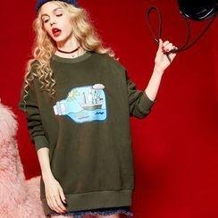 ELF SACK - Printed Pullover