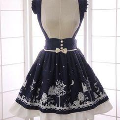 Reine - Print A-Line Jumper Skirt