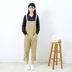 Ranche - Corduroy Pinafore Jumpsuit
