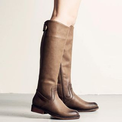 MIAOLV - Low Heel Tall Boots