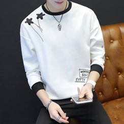 Masowild - Contrast Long-Sleeve T-shirt