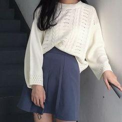 MISS YOYO - 鏤空針織毛衣