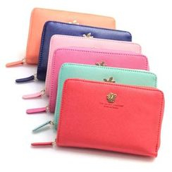 iswas - 'Shinzi Katoh' Series Zip Wallet