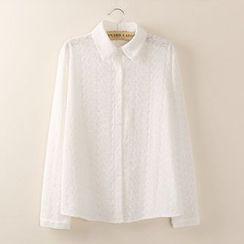 Tangi - 长袖提花衬衫