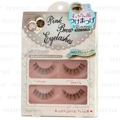 Fits - Love Switch Pink Brown Eyelash (#02 Sweet Noble)