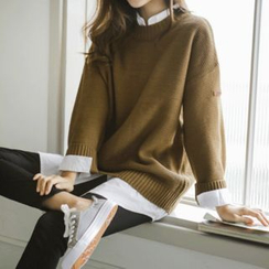 JUSTONE - Crewneck Knit Sweater