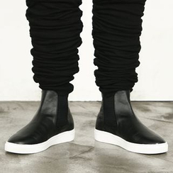 Remember Click - Faux-Leather Boots