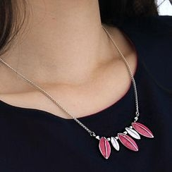 59th Street - Leaf Necklace