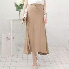 Tokyo Fashion - Drawstring Maxi Skirt