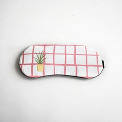 Cutie Bazaar - Plant Embroidered Eye Mask