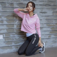 Girasol - Set: Sweatshirt + Sport Bra + Yoga Pants